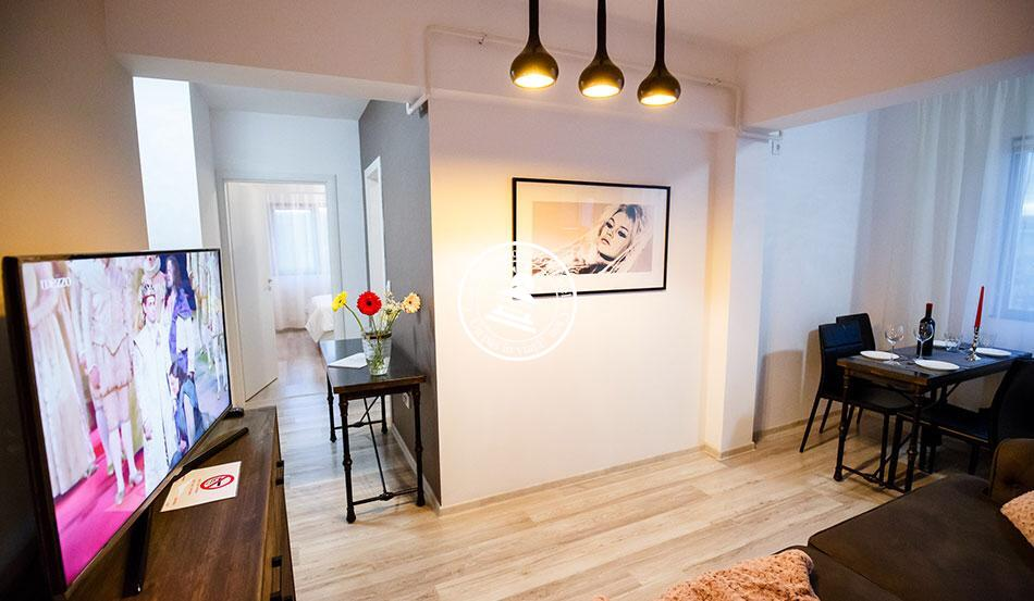 Apartament 2 camere  de inchiriat  Tg Cucu - Podul de Fier,