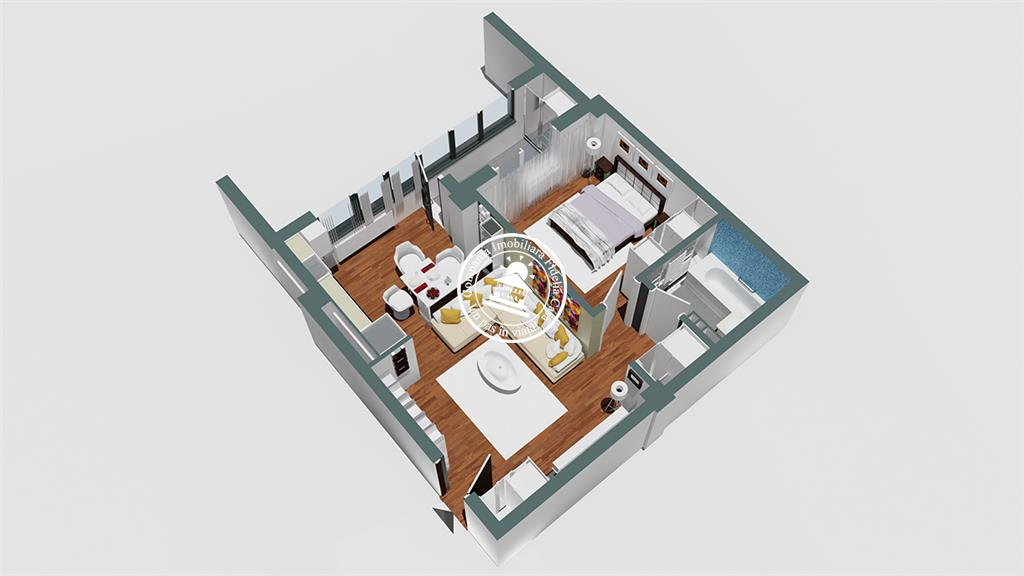 Apartament Nou 2 camere  de vanzare  Rediu,