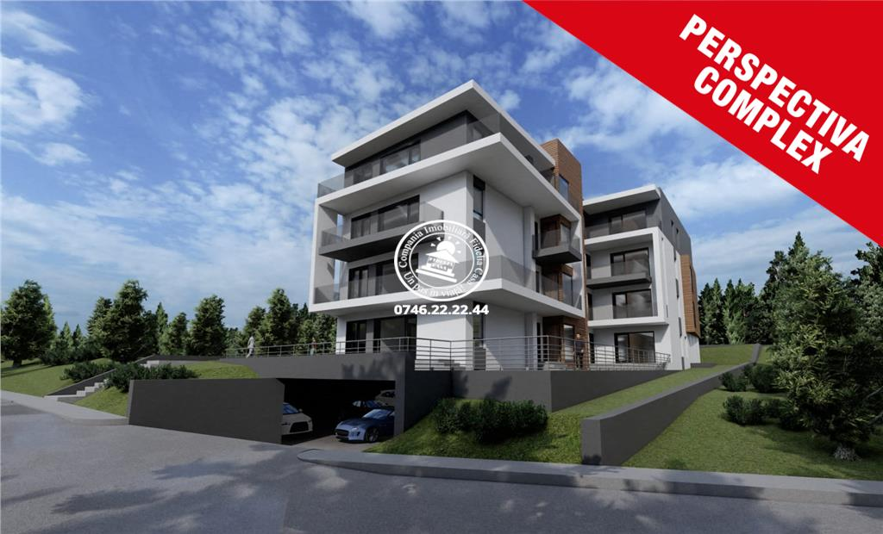 Apartament Nou 3 camere  de vanzare  Moara de Vant,