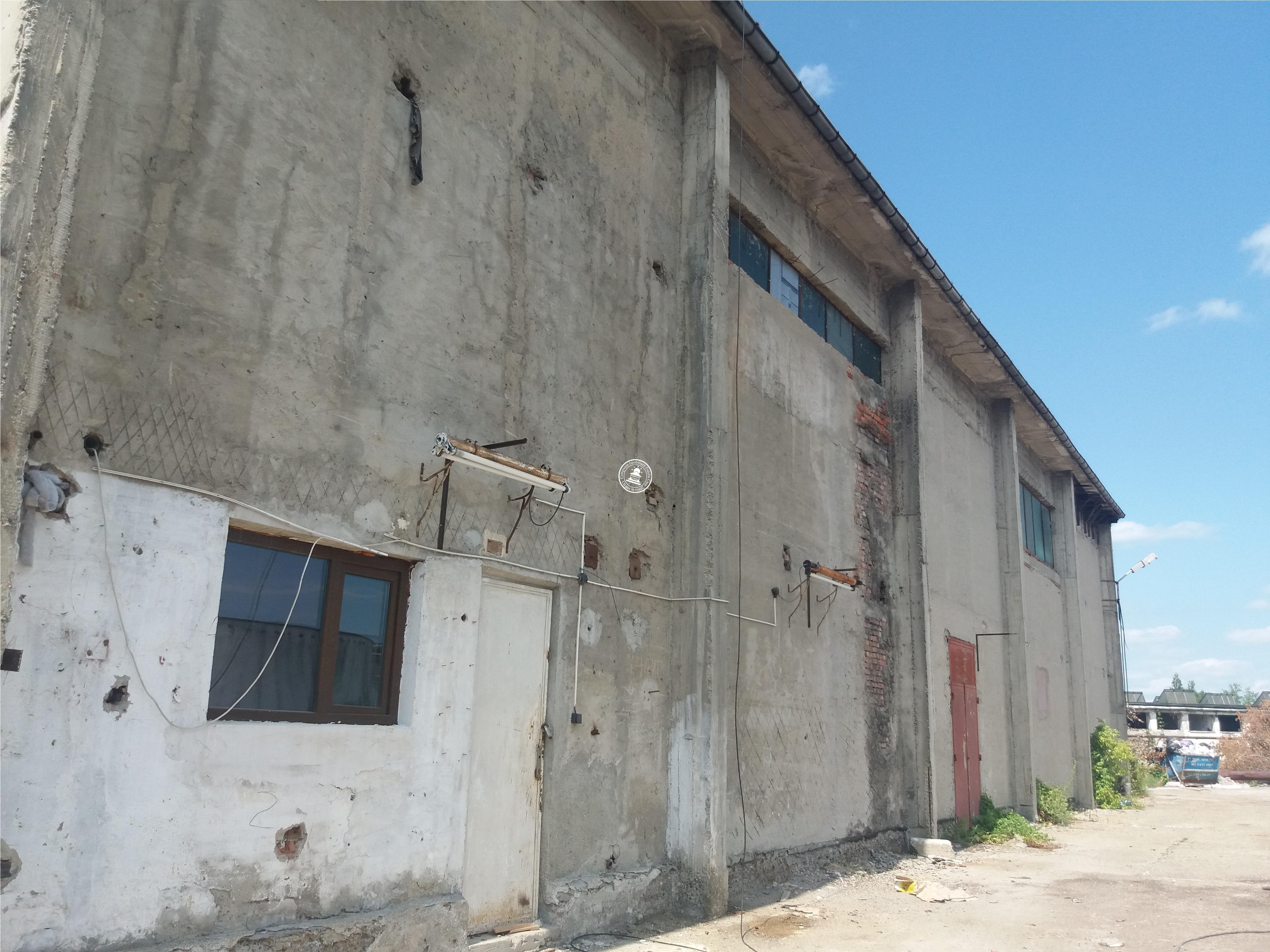 Spatiu industrial  de inchiriat  Podu Ros,