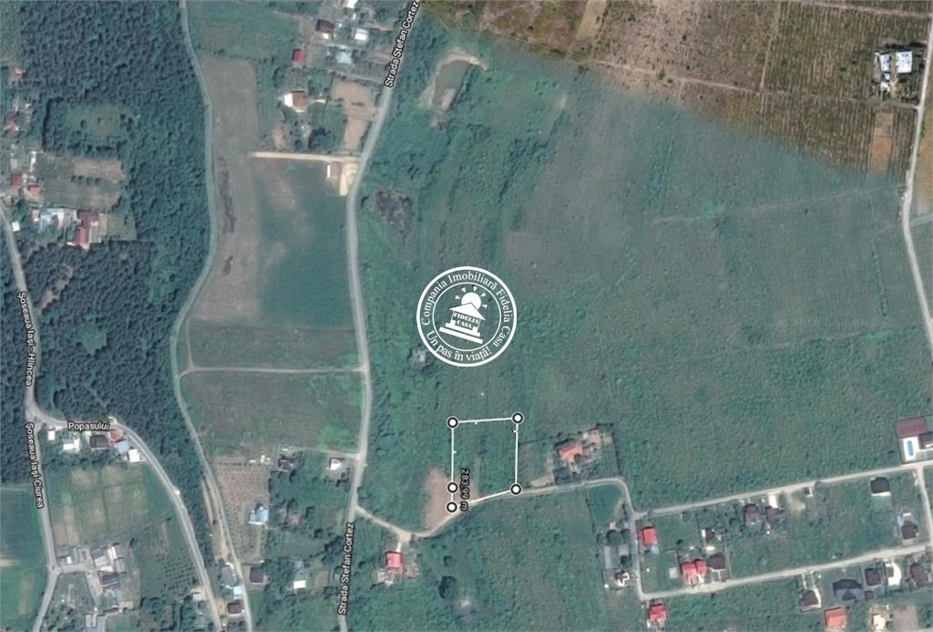 Teren pentru constructii case  de vanzare Iasi, Bucium - Hlincea,