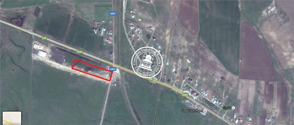 Teren cu destinatie industriala  de vanzare Iasi, Letcani,