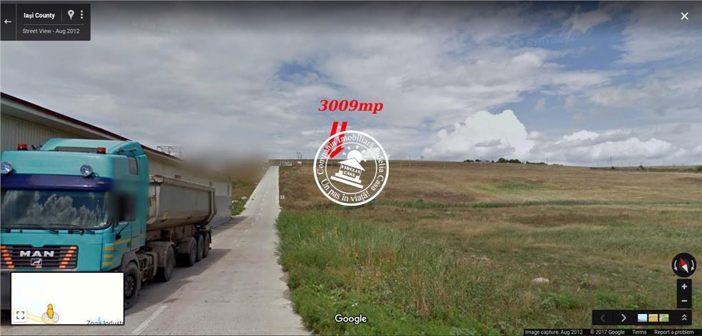 Teren cu destinatie comerciala  de vanzare Iasi, Valea Lupului,