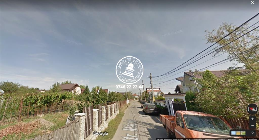 Teren pentru constructii case  de vanzare Iasi, Popas Pacurari,