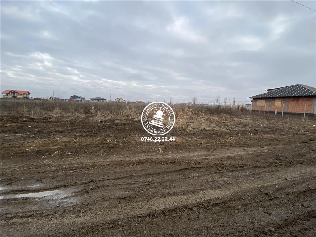 Teren pentru constructii case  de vanzare Iasi, Vorovesti,