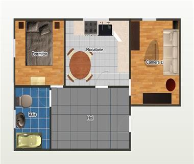Apartament 2 camere  de vanzare  Sfantul Lazar,