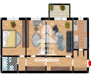 Apartament Iasi, 3 camere, Dacia