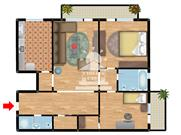 Apartament 3 camere Tip 1 Bloc Elena