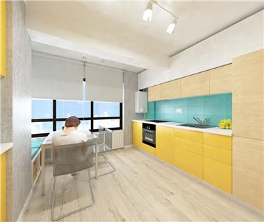 Apartament Nou 3 camere  de vanzare  Copou,