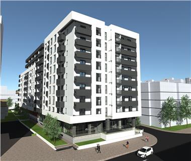 Apartament Nou 3 camere  de vanzare  Gara,