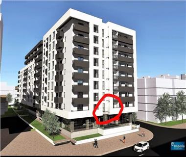 Apartament Nou la revanzare 1 camere  de vanzare  Gara,