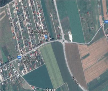 Teren cu destinatie industriala  de vanzare Iasi, Miroslava,