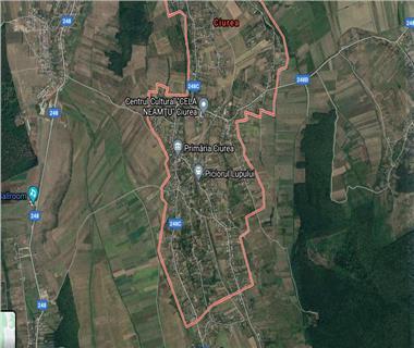 Teren pentru constructii case  de vanzare Iasi, Ciurea,