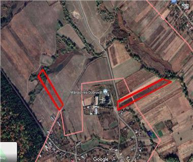 Teren pentru constructii case  de vanzare Iasi, Dobrovat,